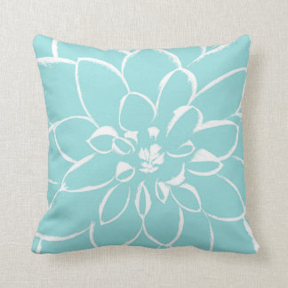 Dahlia Limpet Shell | Blue Cushion