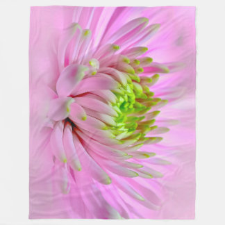 Dahlia Magic Fleece Blanket