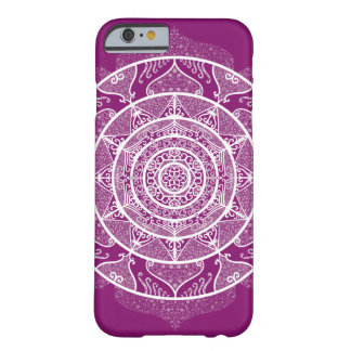 Dahlia Mandala Barely There iPhone 6 Case