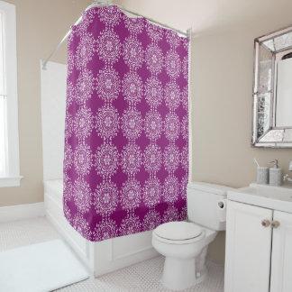 Dahlia Mandala Shower Curtain