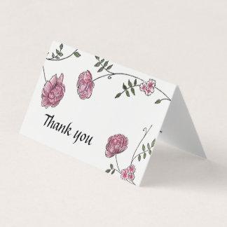 Dahlia Wedding thank you cards