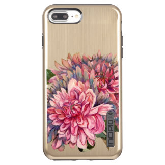 dahlias flowers incipio DualPro shine iPhone 8 plus/7 plus case
