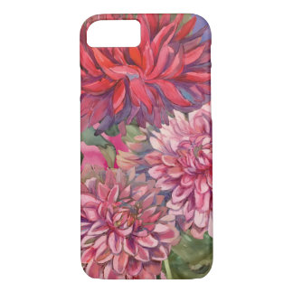 dahlias flowers iPhone 7 case