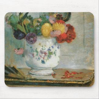 Dahlias Impressionism Mousepad