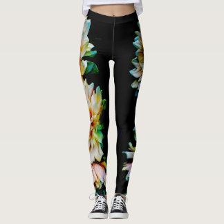 Dahlias leggings