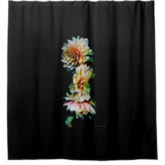 Dahlias Shower Curtain