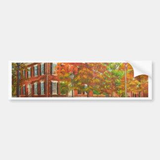Dahlonega Gold Museum Autumn Colors Bumper Sticker