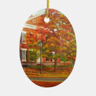Dahlonega Gold Museum Autumn Colors Ceramic Ornament