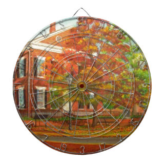 Dahlonega Gold Museum Autumn Colors Dartboard