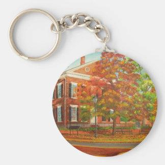 Dahlonega Gold Museum Autumn Colors Key Ring