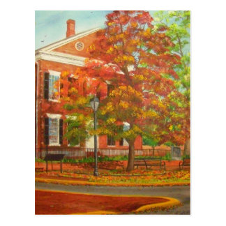 Dahlonega Gold Museum Autumn Colors Postcard