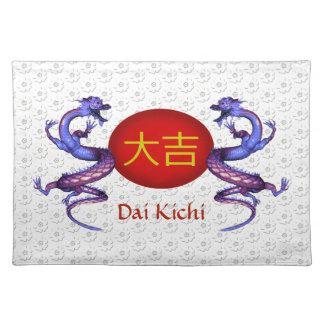 Dai Kichi  Monogram Dragon Placemat