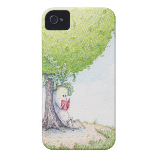 Dai-kun chill'n under a tree iPhone 4 covers