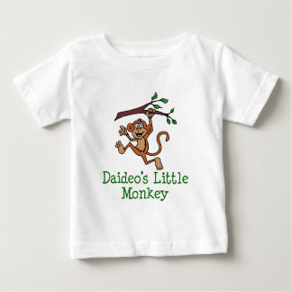 Daideo's Little Monkey Baby T-Shirt