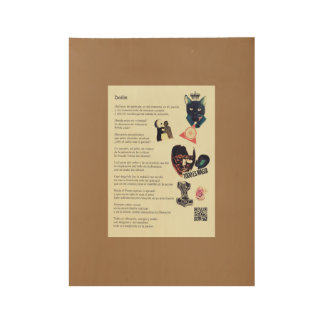 Dailin, Song to the Passion Wood Poster