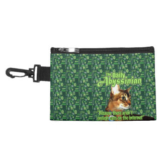Daily Abyssinian Clip-On Gadget Bag