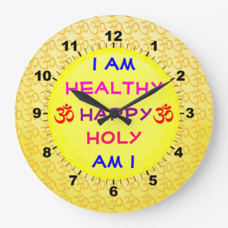 Daily Affirmation clock