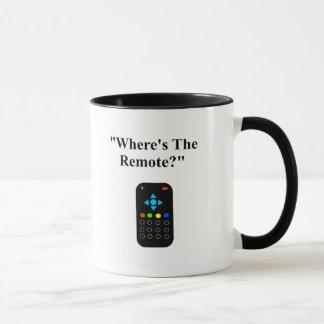 """Daily Dadisms """"Where's The Remote?"""" Mug"""