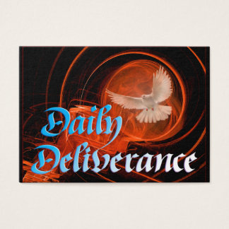 Daily Deliverance card