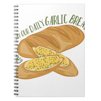 Daily Garlic Bread Notebooks