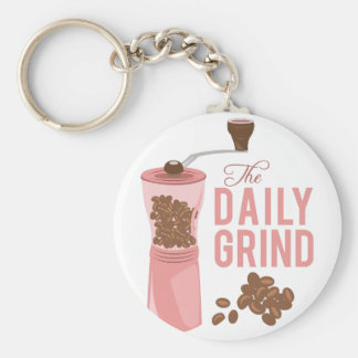 Daily Grind Key Ring