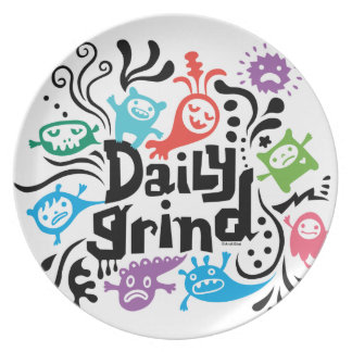 Daily Grind - melamine plate