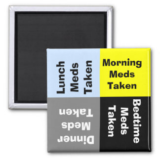 Daily Medication Reminder Magnet