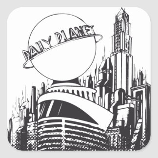 Daily Planet Square Sticker