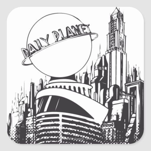 Daily Planet Sticker