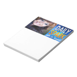 Daily Spark with Dr. Angela Full Note Pad