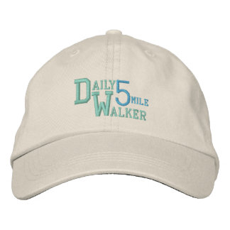 DAILY WALKER cap Embroidered Hats