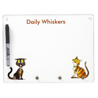 Daily Whiskers planner Dry Erase Whiteboards