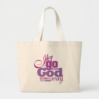 "DAILY WORD®  ""Let Go, Let God"" Canvas Bag"