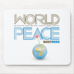 "DAILY WORD® ""World Peace"" Mousepad"