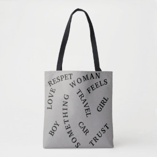DAILY WORDS BAG TOTE