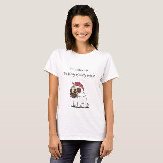 "DailyMeme ""Behold Unicorn"" T-Shirt Women's"