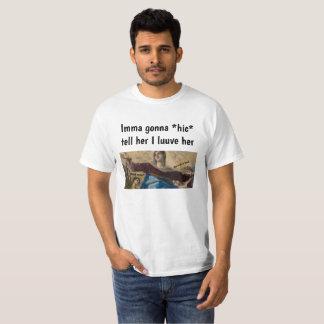 "DailyMeme Classic Art ""Dont do it bruh"" men tshirt"