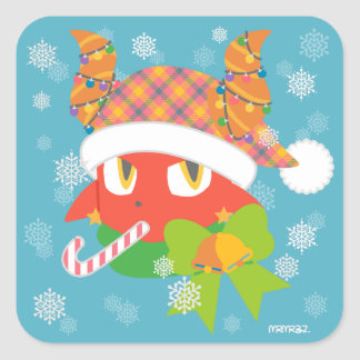Daimon holiday sticker