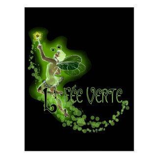 Dainty Absinthe La Fee Verte I Postcard