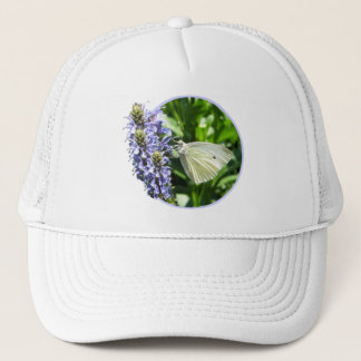 Dainty Butterfly Flowers Nature Hat