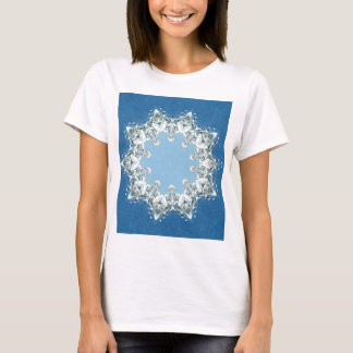 dainty Circular Shades Of Blue T-Shirt
