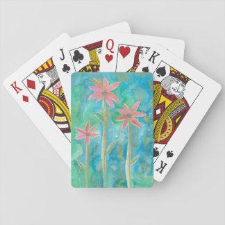 Dainty Daisies III Playing Cards
