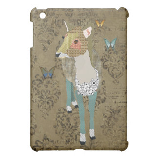 Dainty Deer Damask iPad Case