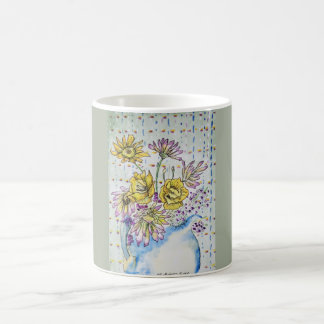 "Dainty Delicate Floral ""Pitcher Perfect III"" Mug"