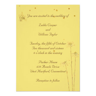 Dainty Flowers Engagement Party Invitation