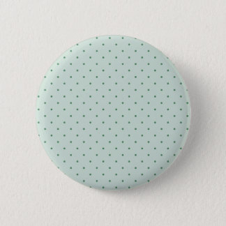 Dainty Green Polka Dots Pattern on a Lighter Green 6 Cm Round Badge