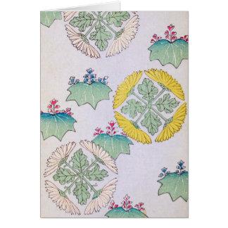Dainty Spring Floral Design Card
