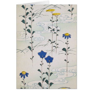 Dainty Vintage Flowers Card