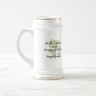 Dainty White Orchids Wedding Products Coffee Mug