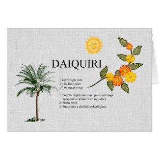 Daiquiri Card